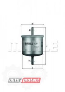 Фото 1 - MAHLE KL 61 фильтр топливный