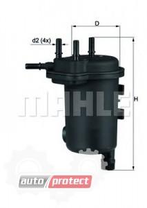 Фото 1 - MAHLE KL 633D фильтр топливный
