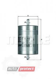 Фото 1 - MAHLE KL 65 фильтр топливный