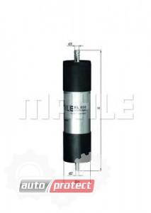 Фото 1 - MAHLE KL 658 фильтр топливный
