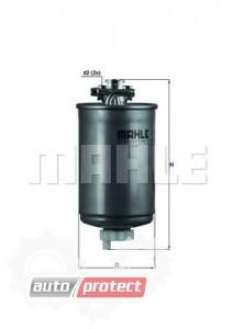 Фото 1 - MAHLE KL 75 фильтр топливный