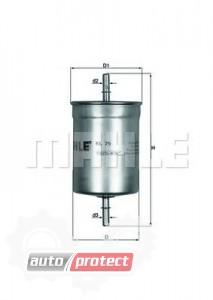 Фото 1 - MAHLE KL 79 фильтр топливный