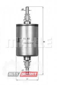 Фото 1 - MAHLE KL 83 фильтр топливный