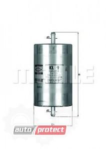 Фото 1 - MAHLE KL 9 фильтр топливный