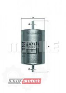 Фото 1 - MAHLE KL 95 фильтр топливный
