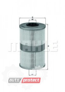 Фото 1 - MAHLE KX 204D фильтр топливный