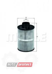 Фото 1 - MAHLE KX 208D фильтр топливный