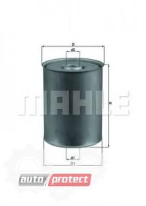 Фото 1 - MAHLE KX 24 фильтр топливный