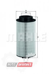 Фото 1 - MAHLE KX 264D фильтр топливный