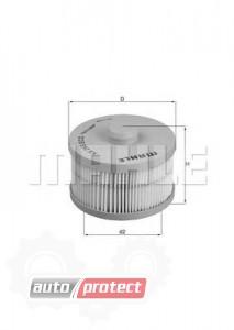 Фото 1 - MAHLE KX 266D фильтр топливный