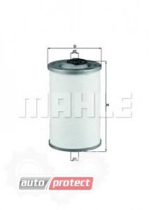 Фото 1 - MAHLE KX 44D фильтр топливный