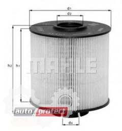 Фото 1 - MAHLE KX 67/2D фильтр топливный