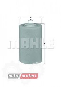 Фото 1 - MAHLE KX 68D фильтр топливный