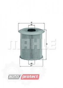 Фото 1 - MAHLE KX 75D фильтр топливный