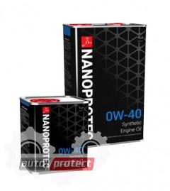 Фото 1 - Nanoprotec Engine Oil 0W-40 Синтетическое моторное масло  1